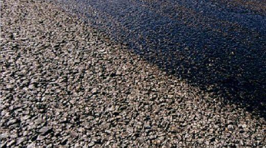 TL-2000 aplicado no asfalto