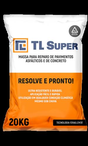 Massa para reparo de pavimentos asfalticos e de concreto TL-Super